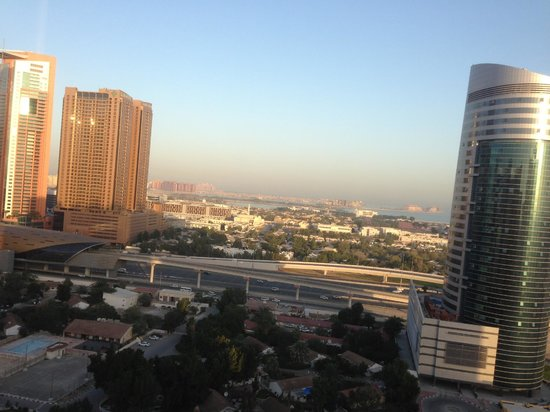 Grand Millennium Dubai:                   Anther view from the Room.
