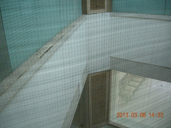 Hotel Mangalam:                   View from Room
