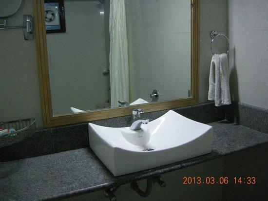 Hotel Mangalam:                   Washroom