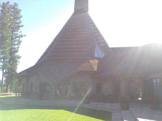 Dragon Golf Course at Nakoma Resort:                   Nakoma Resort front lobby