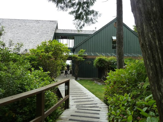 Middle Beach Lodge:                   Eingang