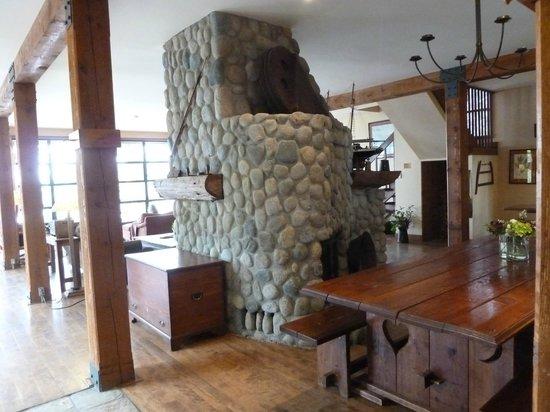 Middle Beach Lodge:                   Speisesaal und Aufenthaltsraum