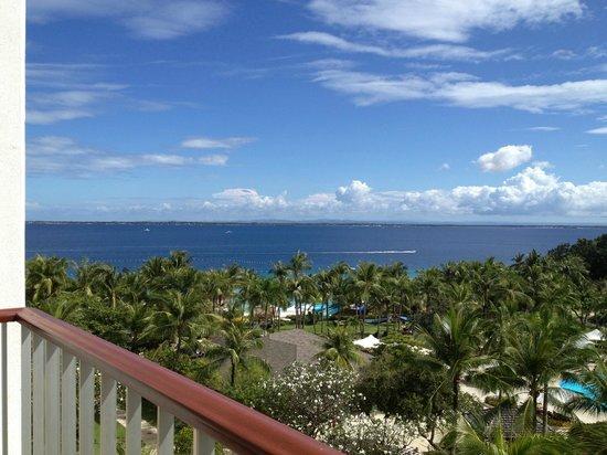 Shangri-La's Mactan Resort & Spa:                   View