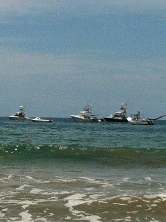 Hotel Tamarindo Diria:                   View from the beach