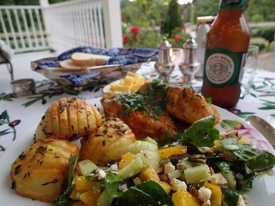 Foxgloves Bed & Breakfast :                                     Dinner