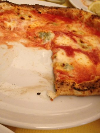 Gennaro Esposito :                                     A very authentic neopolitan style pizza -  a little soggy in