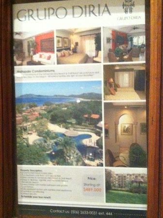 Hotel Tamarindo Diria:                   flyer