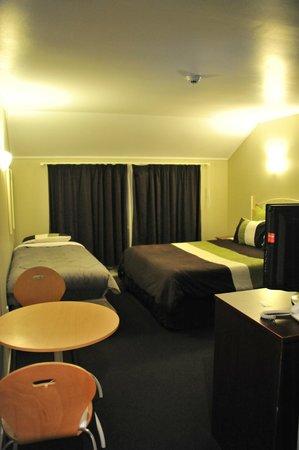 Sai Motels: vue depuis la porte