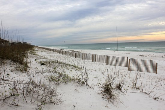 Gulf Islands National Seashore - Florida District:                   Beautiful gulf beach
