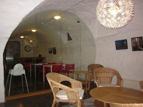 Old Town Hostel:                                     Dining area