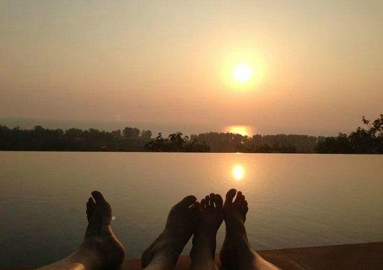 The Pavilions Phuket:                   Poolside sunsets everyday...