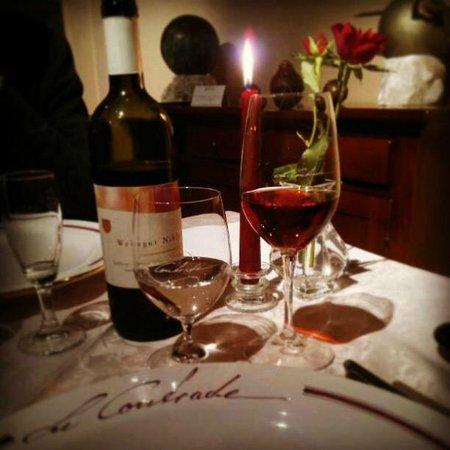 Le Contrade:                   Un tavolo davvero elegante