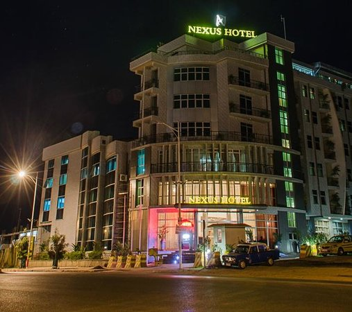 Hotel View From Front Picture Of Nexus Hotel Addis Ababa