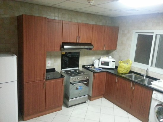 Winchester Hotel Apartments:                                     Kitchen