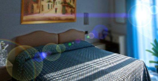 Hotel Mariotti:                                     la camera è carina