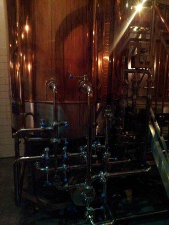 Shato Robert Doms:                                     Inside brewery