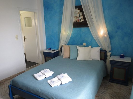 Evgenia Villas & Suites:                   Our beautiful room!