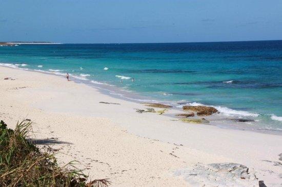 Treasure Cay Beach, Marina & Golf Resort:                   Great Guana Cay beach