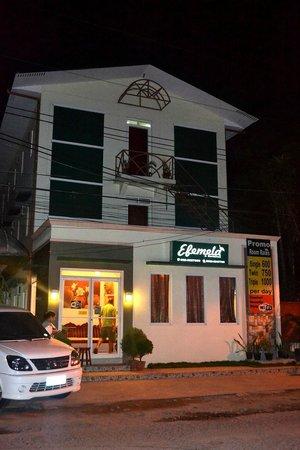 Hotel Efemela:                                     facade