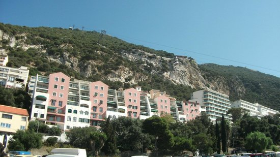 Rock Hotel Gibraltar:                   The  hotel is set in the rock