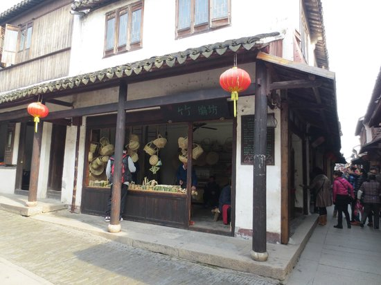 Zhouzhuang Water Town:                   Local Bamboo Shop