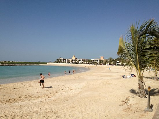 Hilton Ras Al Khaimah Resort & Spa:                   Beach area safe and extremly clean