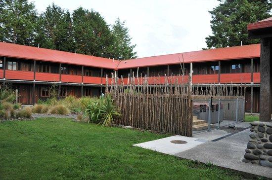 The Park Hotel Ruapehu : couloirs extérieurs