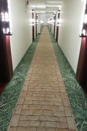 Nordic Hotel Forum:                   Charming 'yellow brick road' to your room.