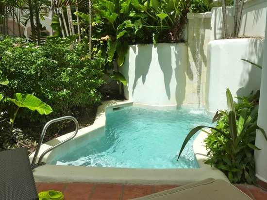The House by Elegant Hotels:                   Plunge pool in garden view room