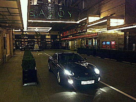 The Savoy:                   Leaving