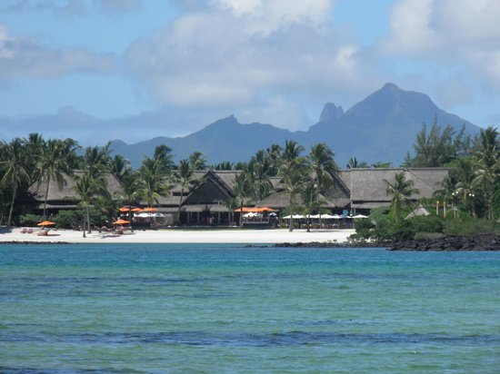 Constance Le Prince Maurice:                   From across the bay