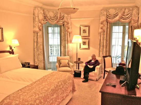 The Savoy:                   Deluxe Room