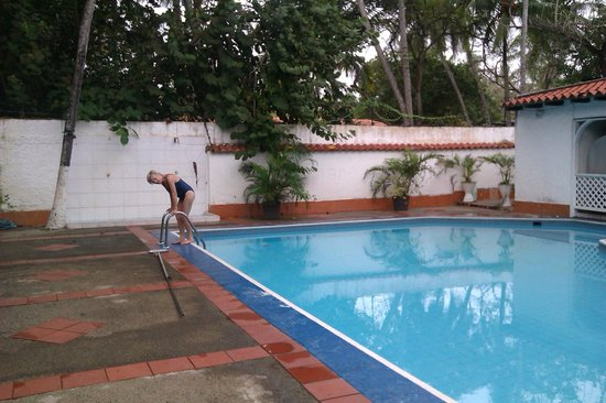 Hotel Restaurant Marlin :                   Pool area