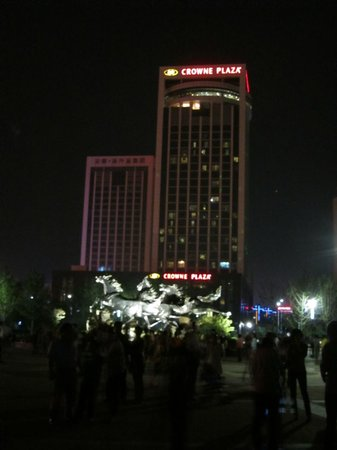 Crowne Plaza Hotel:                   The hotel
