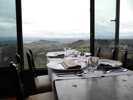 Vista dalla terrazza panoramica - Bild von Bel Soggiorno, San ...