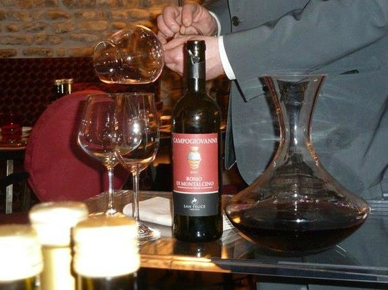 Hotel Brunelleschi:                   another amazing wine!