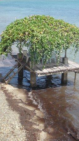 Puerto Nirvana Beach Resort:                   Bahay Kubo