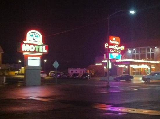 Ramada Ely:                   view from motel block