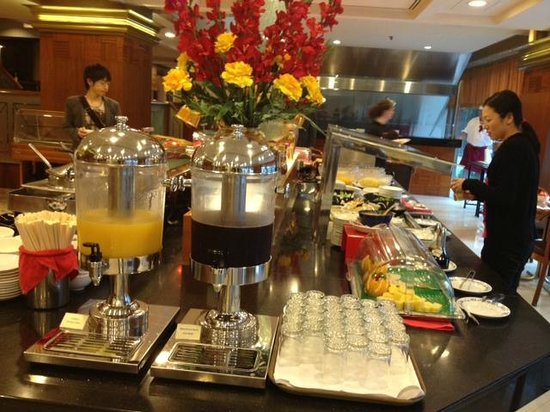 Buffet Breakfast Daily Juices Fresh Fruits Picture Of Grand