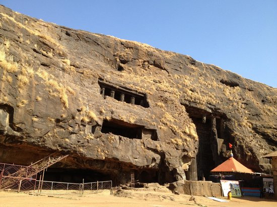 Karla Caves:                   Goddess EKVEERA Devi Temple in Caves