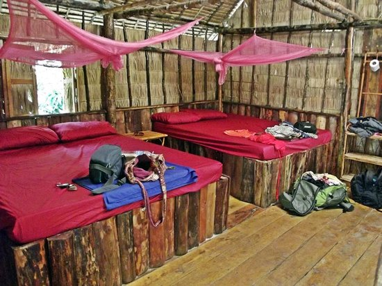 Coco's Bungalow Resort:                   our hut