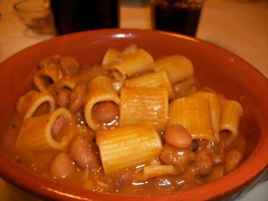 Pasta e fagioli - Picture of La Terrazza, Mercato San Severino ...