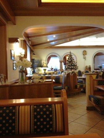 Hotel la Cacciatora Wellness & Beauty: Sala conversazione e merenda