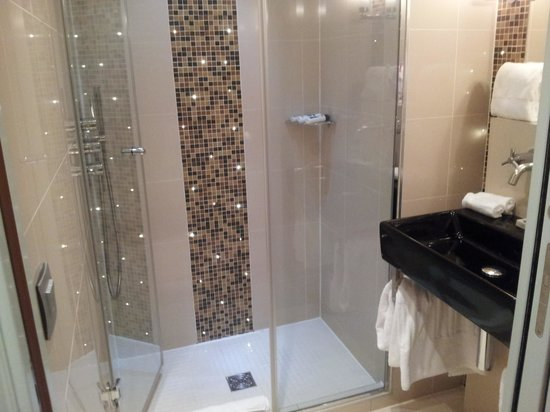 Hotel le Petit Paris:                   shower