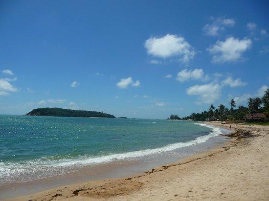Bhundhari Spa Resort & Villas Samui:                   la spiaggia dell'hotel