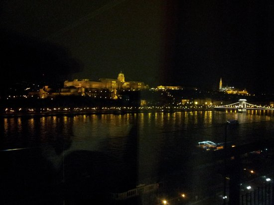 Budapest Marriott Hotel:                   the view from our room
