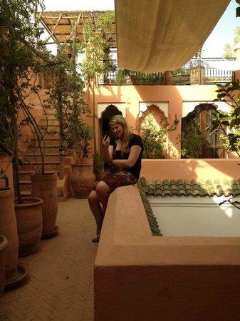 Riad Nora:                   1st Floor Terrance