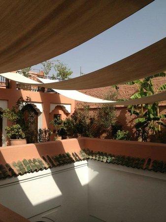 Riad Nora:                   First Floor Terrance