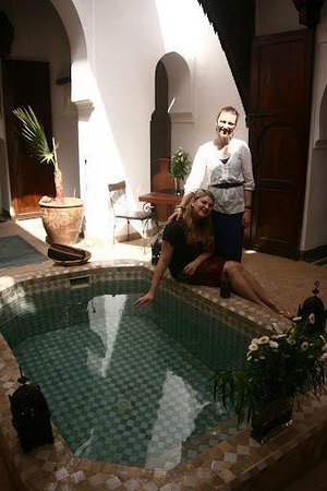 Riad Nora:                   Ground Floor pool