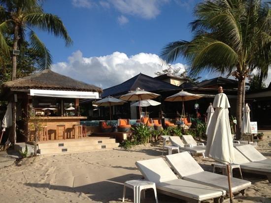 Samui Jasmine Resort :                   view from beach